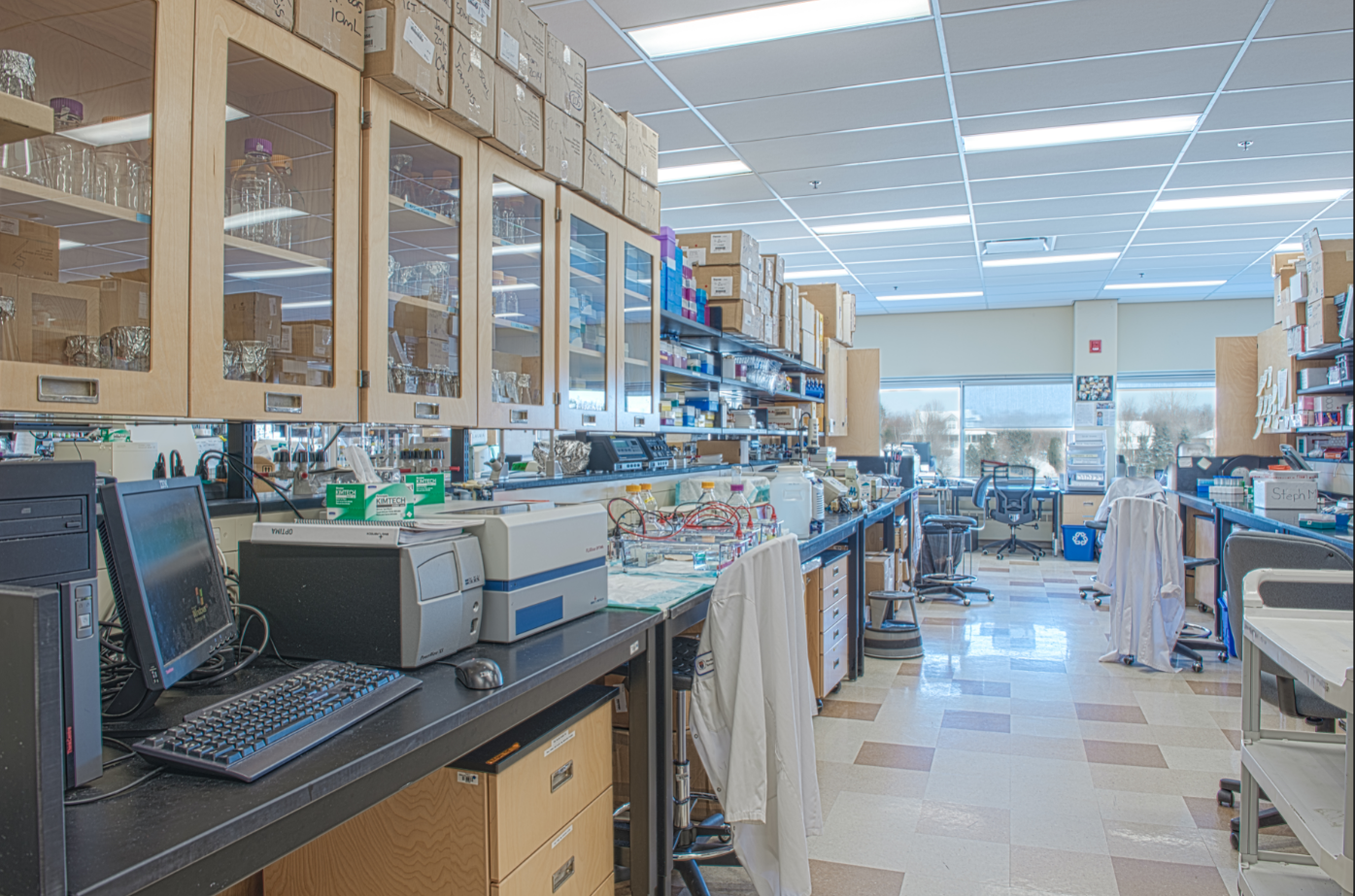 Image of NOSM at Laurentian University Laboratory Facility