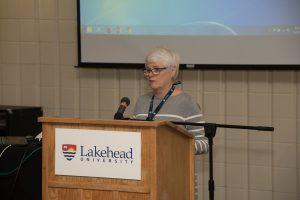 Associate Dean of Research, Dr. Penny Moody-Corbett