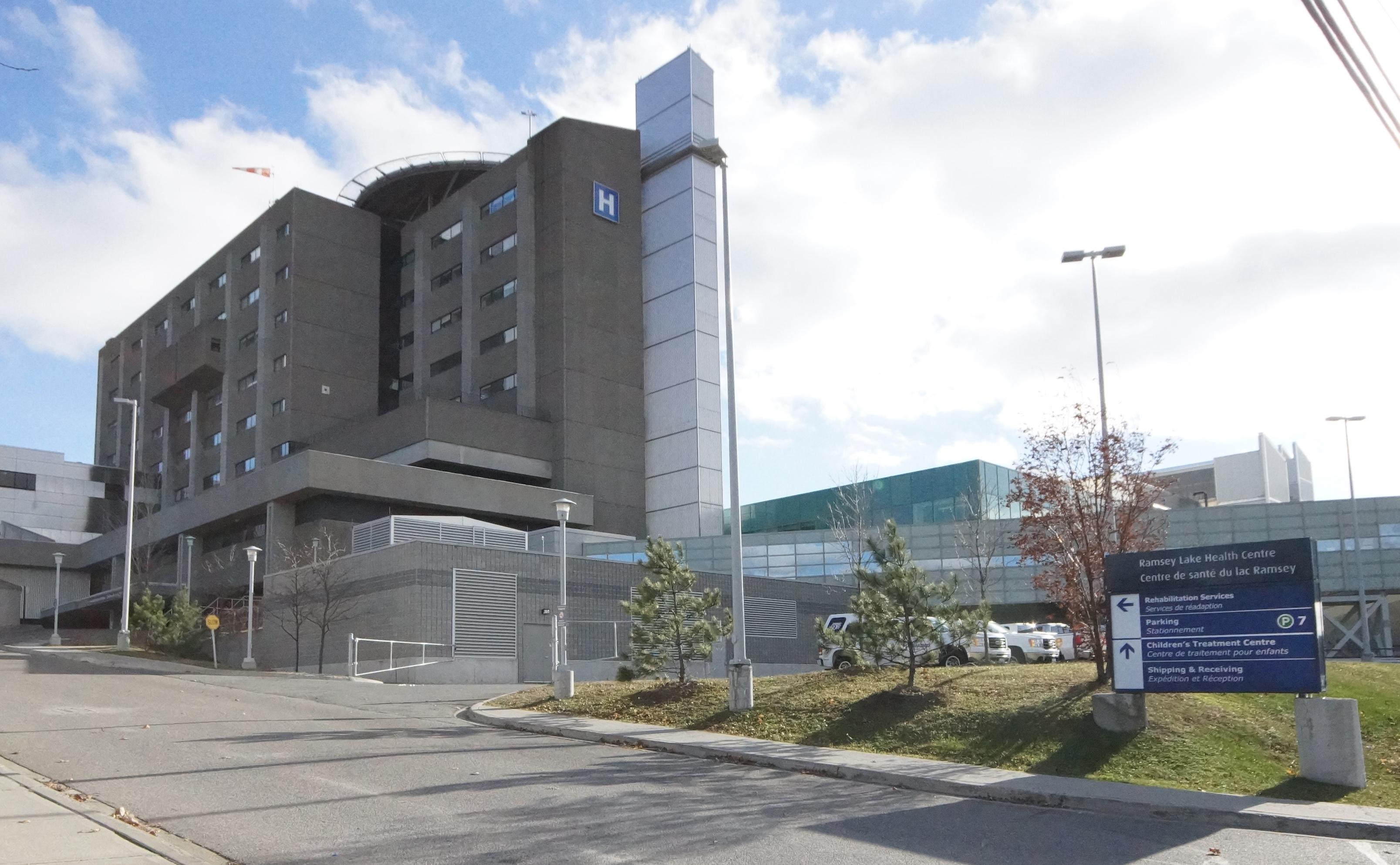 Photo of Health Sciences North in Sudbury, Ontario