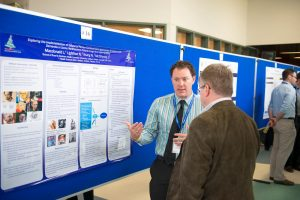 2015 NHRC participants viewing poster presentations