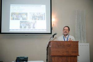 Dr. Roger Strasser at podium of 2015 NHRC