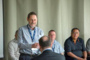 Participant Dr. Roger Strasser at 2014 NHRC