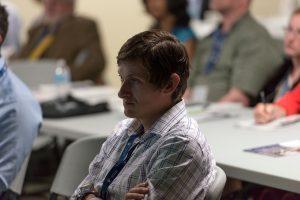 Audience member at 2014 NHRC