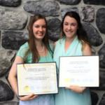 Photo of NODIP grads Paige Huycke and Jillian Ingribelli