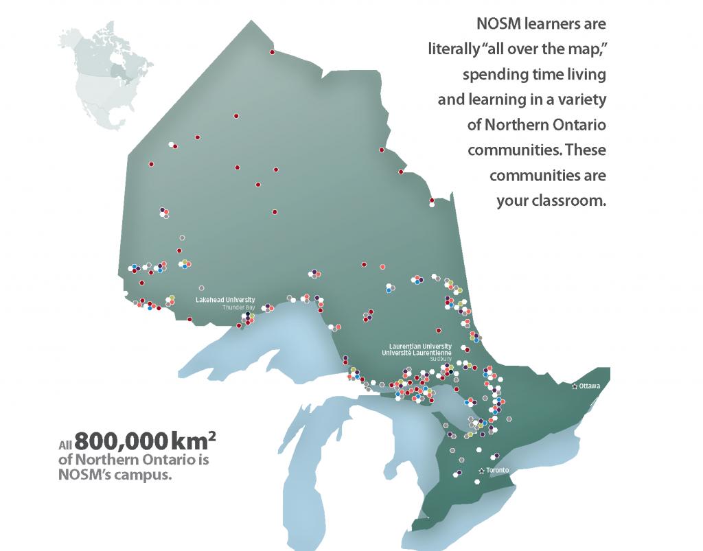 NOSM Map