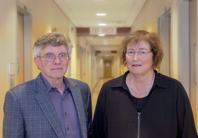 Dr. Kim Tilbe and Dr. Sandra Cameron