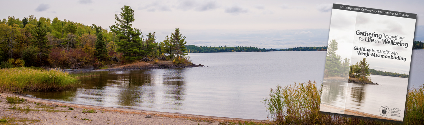Image of Northern Ontario lake.