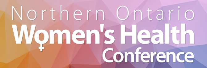 Northern Ontario Women's Health Conference Banner