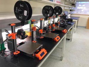 LU Engineering Makerspace 3D Printer Farm