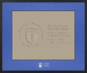 Vogue Diploma Frame